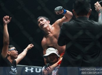 ONE Championship: Eduard Folayang stops Shinya Aoki