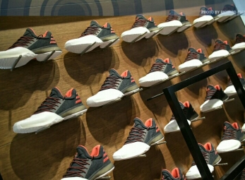 James Harden shoe launch