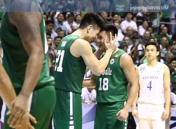 DLSU sweeps Ateneo to seize second title in four years