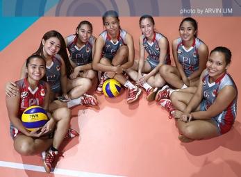 NCAA 92 Women's Volleyball OBB shoot: Lyceum