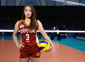 NCAA 92 Women's Volleyball OBB shoot: Perpetual