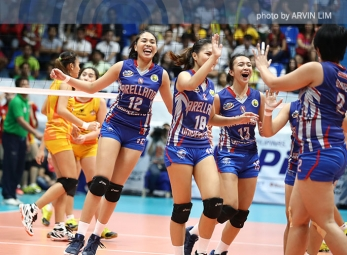 Arellano U pulls off a shocker over SSC-R in Finals opener
