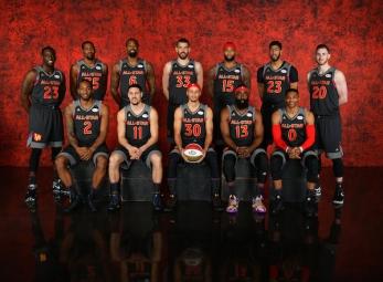 2017 NBA All-Star Sunday portraits