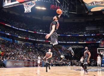 2017 NBA All-Star game first half