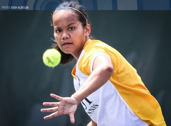 UAAP 79 Women's Tennis ADMU vs UST Feb 25