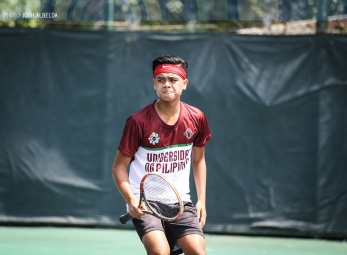 UAAP 79 Men's Tennis ADMU vs UP Feb 25