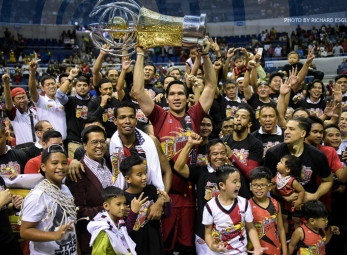 San Miguel wins Perpetual trophy at the expense of Ginebra
