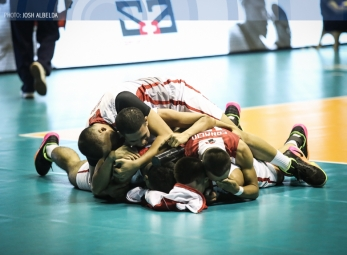 UE halts 35-game skid, outlasts Adamson in five sets