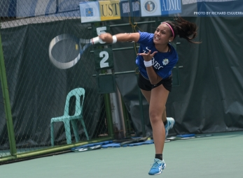 UAAP 79 Women's Lawn Tennis ADMU vs UST