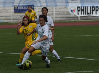 DLSU ends first round on top of women's football standings