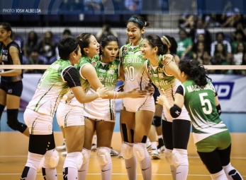 Lady Spikers silence Lady Bulldogs for second straight win