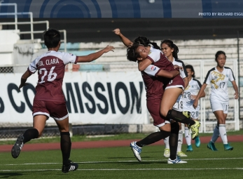 UP ladies rally back to get first win of season
