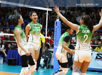 Lady Spikers sweep Lady Maroons in revenge win