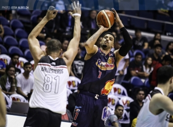 ROS takes solo lead after overtime win against Mahindra