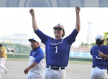 UAAP 79 Baseball Finals: Ateneo celebration gallery