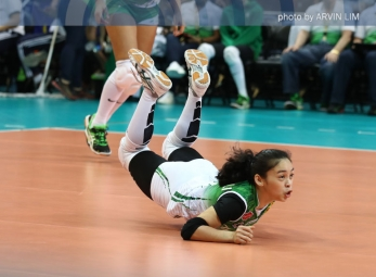Lady Spikers sweep Lady Falcons for solo lead