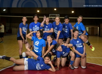 Premier Volleyball League Photo shoot: Pocari Sweat