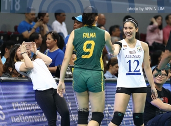 Lady Eagles land sixth straight Finals appearance