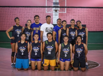 Premier Volleyball League Photo shoot: Air Force