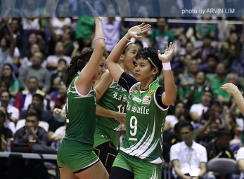 Lady Spikers draw first blood, near repeat crown