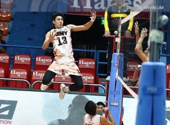 Army rallies past IEM to open PVL men's play