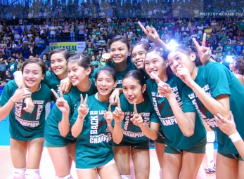 UAAP 74 Women's Volleyball Finals: Ateneo vs La Salle