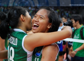 UAAP season 75 women's volleyball Finals: Ateneo vs La Salle