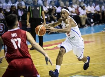 Philippines crush Singapore for 32nd straight SEABA win