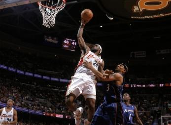 THROWBACK: LeBron James' first Playoffs game