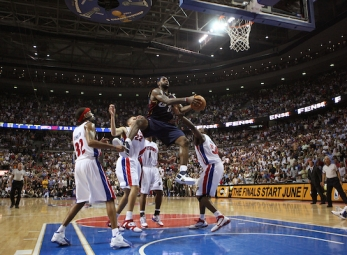 LeBron James' best moments in the Playoffs