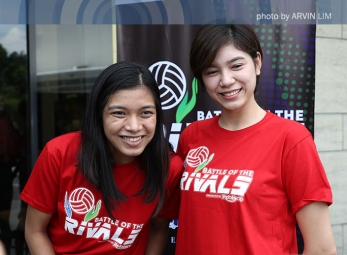 IN PHOTOS: Battle of the Rivals Press Conference