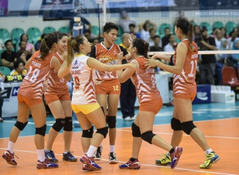 Power Smashers survive Lady Warriors, force semis decider