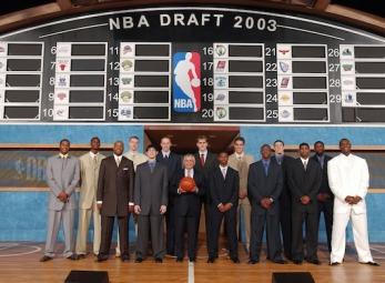 THROWBACK: NBA Draft classes