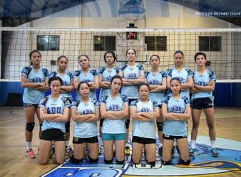 PVL Open Conference Shoot: Adamson Lady Falcons