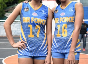 PVL Open Conference Shoot: Air Force Lady Jet Spikers