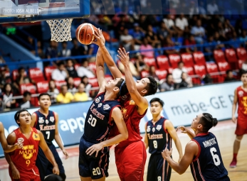 Estrella breaks Letran's heart, brings Mapua onto win column
