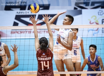 Jet Spikers return to win column, send Lady Maroons down 0-3