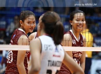 Spikers boost bid for semis as Bersola, Tiamzon frustrate UP