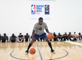 2017 Basketball Without Borders Africa camp - pt.2