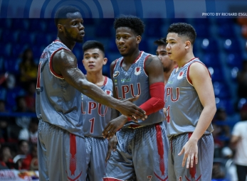LPU continues dominant run, completes sweep of Round 1