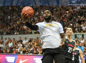 LeBron James in Manila: Strive for Greatness Tour 2017 pt. 2