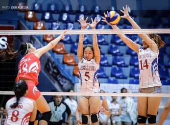 Lady Chiefs claim solo lead, sweep Lady Red Spikers