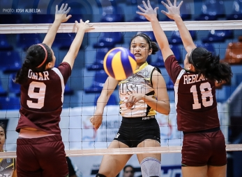 UAAP 80 Jrs. Volleyball: UST def. UPIS