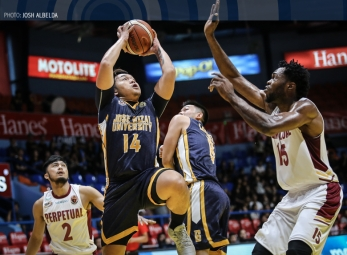JRU blows out Perpetual to remain at solo third