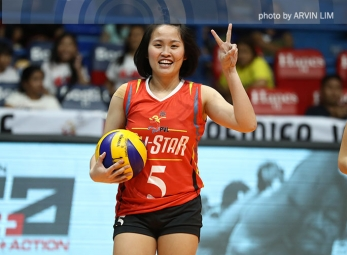 Red Team tops White Team in PVL All-Star women's match