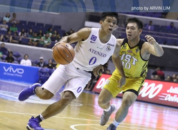 Ateneo marches to 12-0 after making quick work of UST