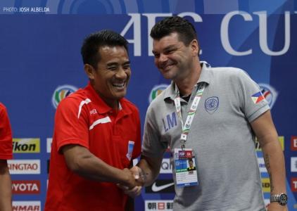 2015 AFC Cup: Global FC vs. Yadanarbon FC Press Conference