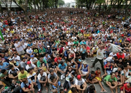 Images: Filipino fans unite during Pacquiao vs. Mayweather