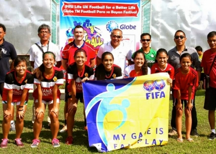Football for a Better Life continues in Cagayan de Oro!