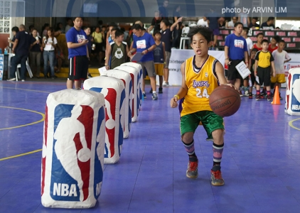 Jr. NBA/ Jr. WNBA Regional Selection Camp Manila Day 1